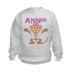 Little Monkey Annie Sweatshirt