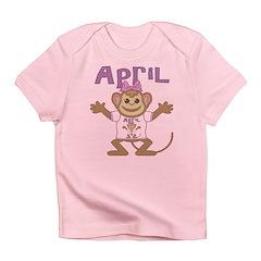 Little Monkey April Infant T-Shirt