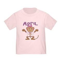 Little Monkey April T