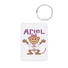 Little Monkey Ariel Keychains