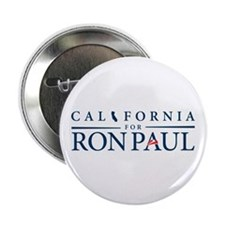 """California for Ron Paul 2.25"""" Button (10 pack)"""