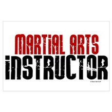 Martial Arts Instructor 2 Poster