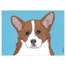 Little Long Dog Poster