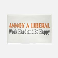Annoy a Liberal Rectangle Magnet (100 pack)