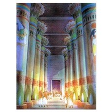 EGYPTIAN TEMPLE Poster