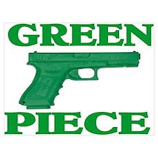 GREEN PIECE Poster