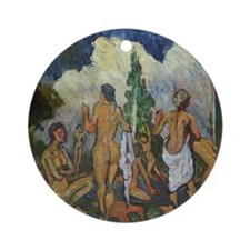 LEISURE TIME Ornament (Round)