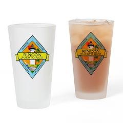 New Rincon Logo Drinking Glass