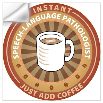 Instant Speech-Language Pathologist P Wall Decal