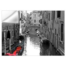 Venice Canal with Gondola Wall Decal