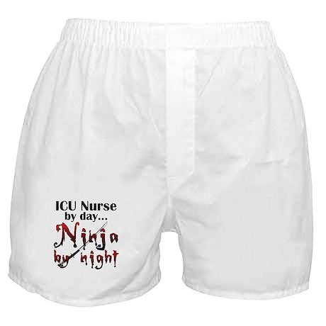 ICU Nurse Ninja Boxer Shorts