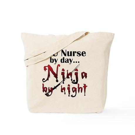 ICU Nurse Ninja Tote Bag