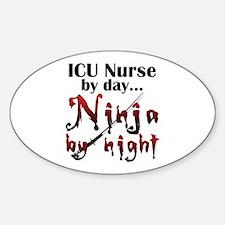 ICU Nurse Ninja Decal