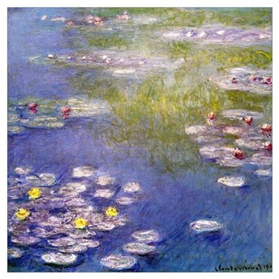 Nympheas at Giverny Canvas Art