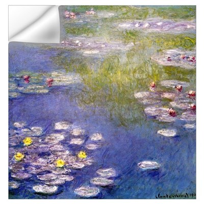 Nympheas at Giverny Wall Decal