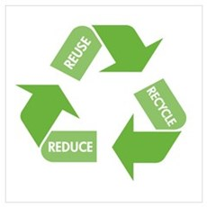 Recycle Reuse Reduce Poster
