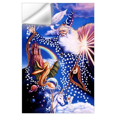 Wizard Large 23x35 Wall Decal