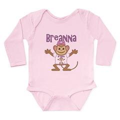 Little Monkey Breanna Long Sleeve Infant Bodysuit