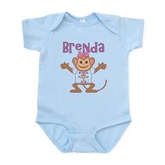 Little Monkey Brenda Infant Bodysuit