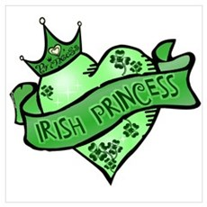 Irish Princess St. Patricks Day Framed Print