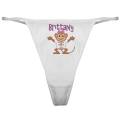 Little Monkey Brittany Classic Thong
