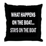 Boating Throw Pillows