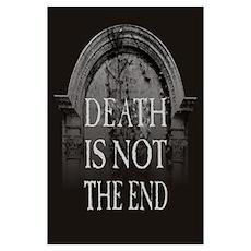 Death Gravestone Poster