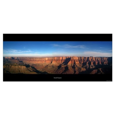 Panorama - Grand Canyon Framed Print