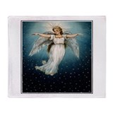 Angel wings Fleece Blankets