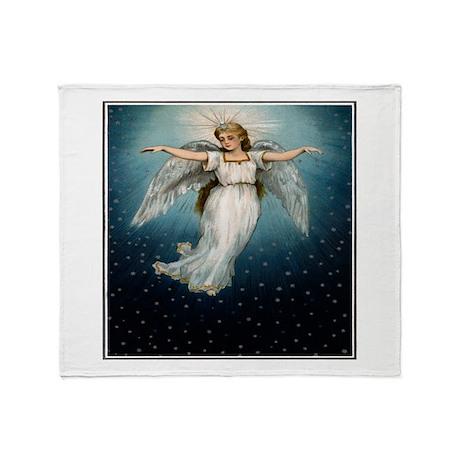 """Guardian Angel"" Throw Blanket"