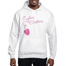 Cyber Sisters Hooded Sweatshirt