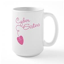 Cyber Sisters Large Mug