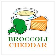 Broccoli Cheddar Soup Poster