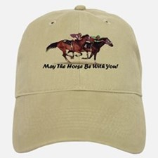 May The Horse Be With You Baseball Baseball Cap