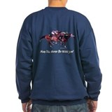 Horse racing Sweatshirt (dark)