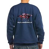 Horse racing Sweatshirt (dark)