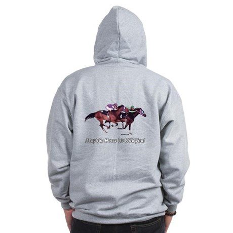 May The Horse Be With You Zip Hoodie (B)