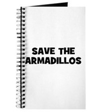 Save The Armadillos Journal