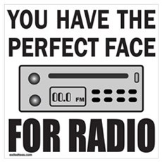 PERFECT FACE FOR RADIO Poster