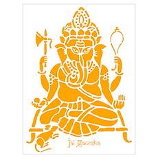 Jai Ganesh (Orange) Poster