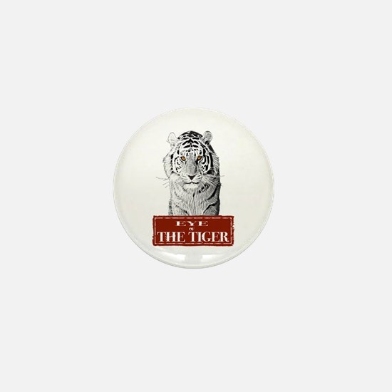 Eye of the Tiger Specail Effe Mini Button