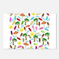 Beach Pattern Postcards (Package of 8)