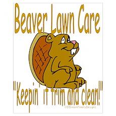 Beaver Lawn Poster