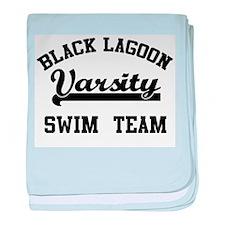 Black Lagoon baby blanket