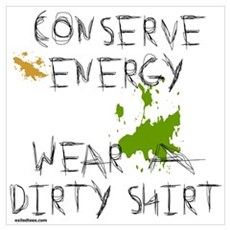 CONSERVE ENERGY Poster