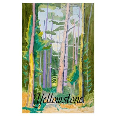 First Breath Yellowstone Poster