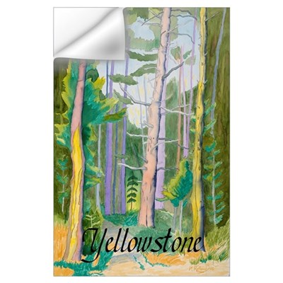 First Breath Yellowstone Wall Decal