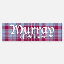 Tartan - Murray of Polmaise Bumper Bumper Sticker