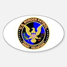 US Border Patrol mx1 Oval Decal