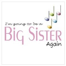 Music Notes Big Sister Again Poster